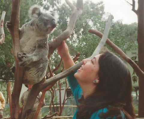 Koala and I