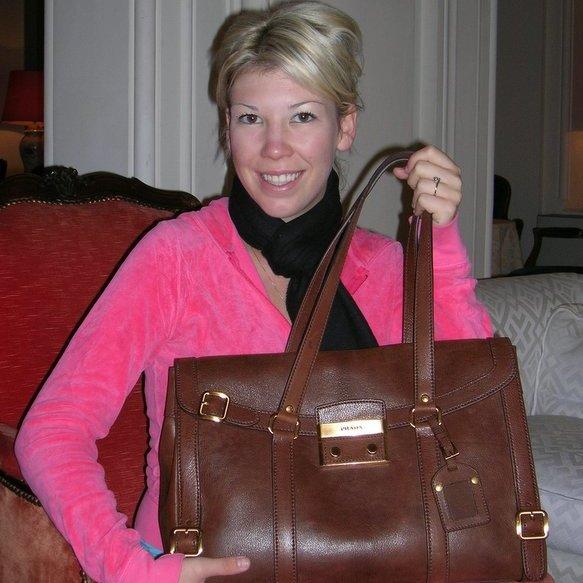Lauren's new Prada